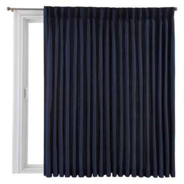 Royal Velvet® Supreme Pinch-Pleat/Back-Tab Thermal Patio Door Panel - JC Penney