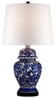Temple Jar Table Lamp - Lamps Plus