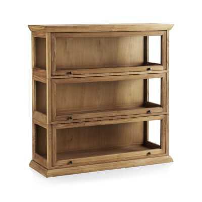 Atticus 3-Piece Barrister Bookcase - Crate and Barrel