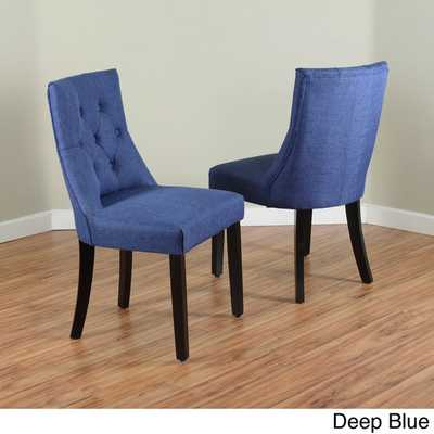 Bellcrest Upholstered Dining Chairs (Set of 2) - Overstock