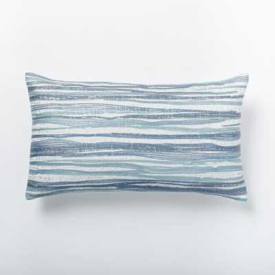 Metallic Bark Pillow Cover - West Elm