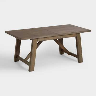 Wood Farmhouse Extension Table - World Market/Cost Plus