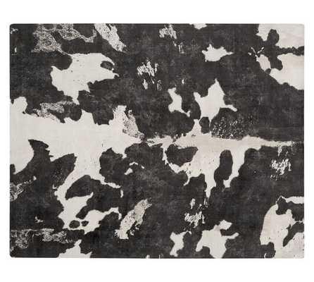 COW PRINTED RUG - 9' x 12' - Pottery Barn