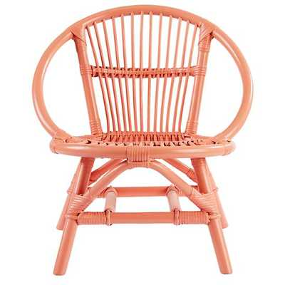 Peach Good Nature Play Chair - Land of Nod