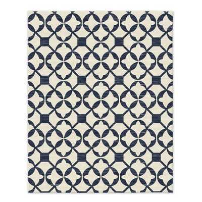 Tile Wool Kilim Rug - 8'x10' - West Elm