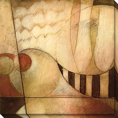 Gallery Direct DeRosier 'Transformation IV' Oversized Canvas Art - Overstock