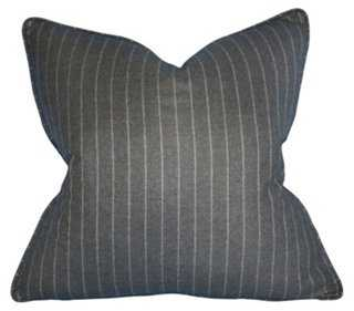 Stripe Wool Pillow - One Kings Lane