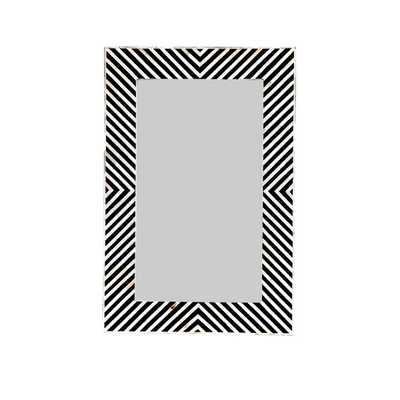 Inlay Rectangular Wall Mirror - AllModern
