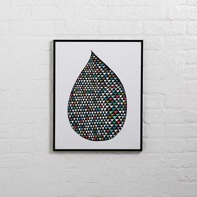 Rain Drop Wall Art. - Land of Nod