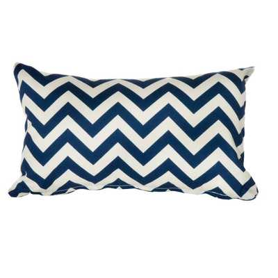Chevron Indoor/Outdoor Lumbar Pillow - AllModern