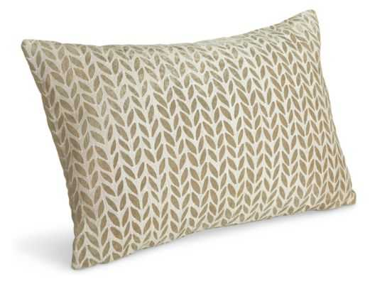 Galbraith & Paul Willow Pillow - White - 20x13 - With Insert - Room & Board