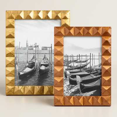 Metal Clad Geo Frame - World Market/Cost Plus