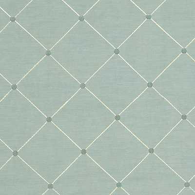 """Salisbury Fabric by the Yard - """"Swatch"""" - Ballard Designs"""