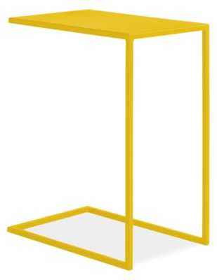 Slim C-Table - Yellow - Room & Board