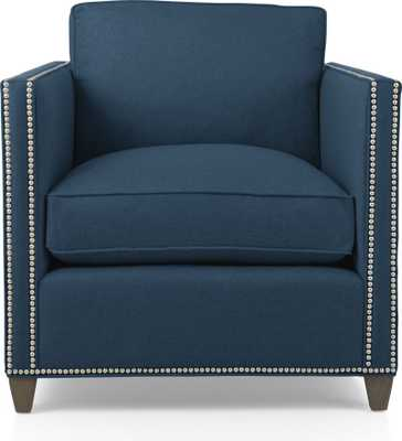 Dryden Chair with Nailheads - Crate and Barrel