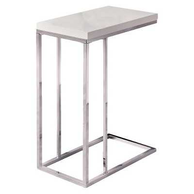Monarch Specialties C Shape Metal Accent Table - Target