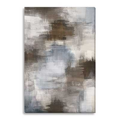 Canvas Print - Abstract Smudges - West Elm
