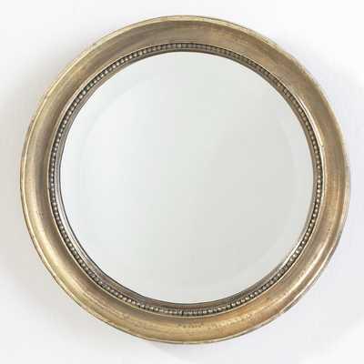 Round Beaded Mirror - Wisteria