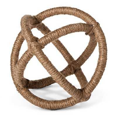 "Mudhutâ""¢ Rope Sphere - Small - Target"