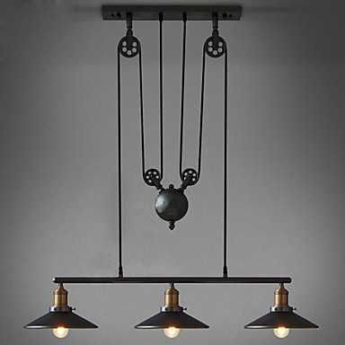 American Country Wrought Iron Chandelier - lightinthebox.com