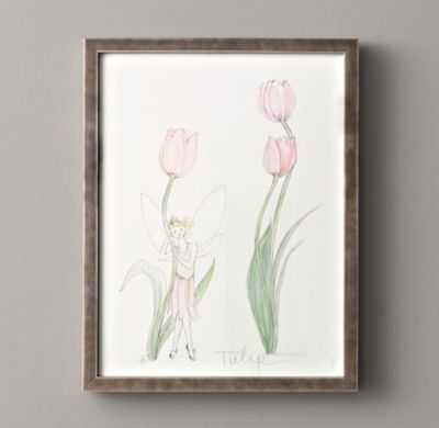 flower fairy illustration (Tulip) - RH Baby & Child