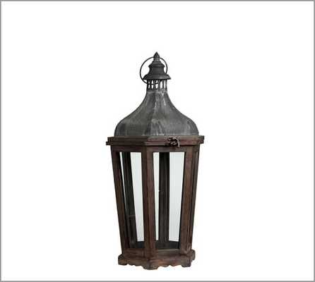 Park Hill Lantern - Large - Pottery Barn