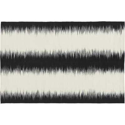 Reverb black rug 6'x9' - CB2