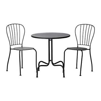 LÄCKÖ Table+2 chairs - Ikea