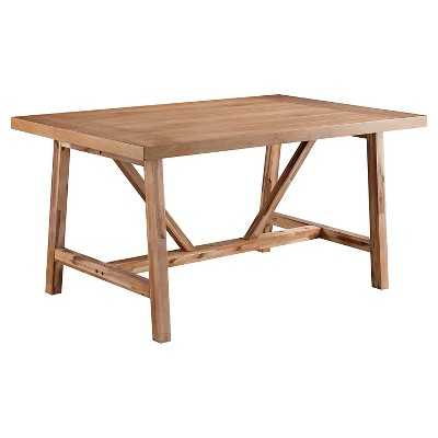 "Wheaton Farmhouse Trestle Dining Table 72"" - Target"