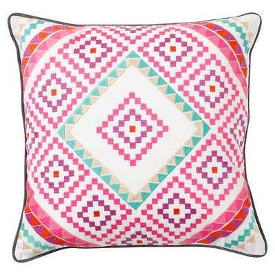 "Junk Gypsy Silverado Pillow Cover - 18"" - Insert sold separately - Pottery Barn Teen"