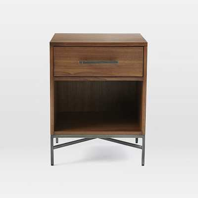 City Storage Nightstand - Walnut - West Elm