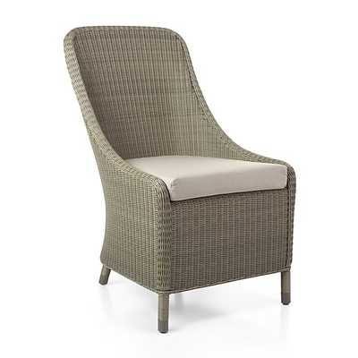 Bridgewater Dining Chair with Sunbrella ® Cushion - Crate and Barrel