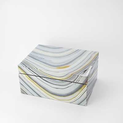 Agate Jewelry Box - Large, Natural - West Elm