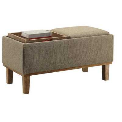 Designs4Comfort Storage Ottoman - AllModern