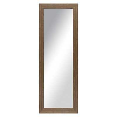 "Thresholdâ""¢ Washed Wood Look Floor Mirror - Target"