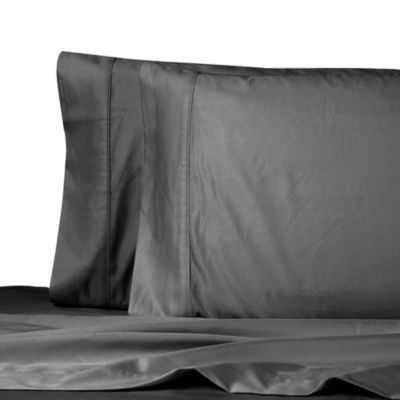 Wamsutta® Dream Zone™ MICRO COTTON® Standard Pillowcase Pair in Charcoal - Bed Bath & Beyond