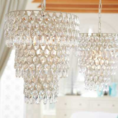 Teardrop Chandelier - Pottery Barn Teen