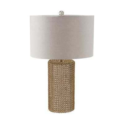 Chainmail Cylinder Table Lamp - Rosen Studio