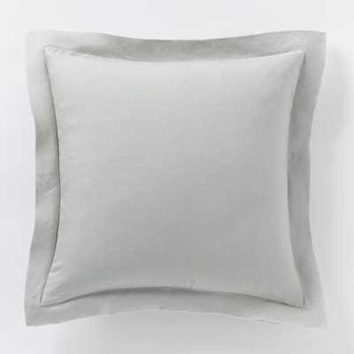 Belgian Linen Pillow Cover - West Elm