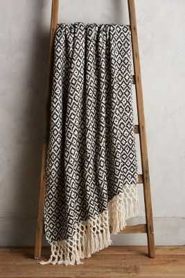 Diamond Weave Throw - Anthropologie