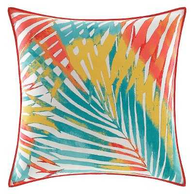 Electric Beach Decorative Pillow - Coral - Target