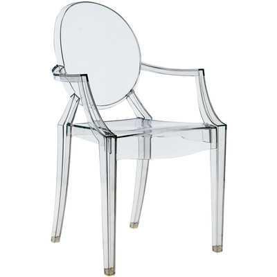 Louis Ghost Arm Chair - Wayfair