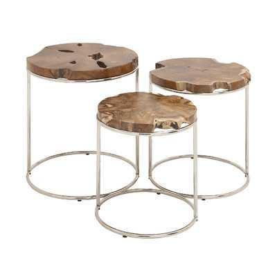 3 Piece Nesting Tables - Wayfair