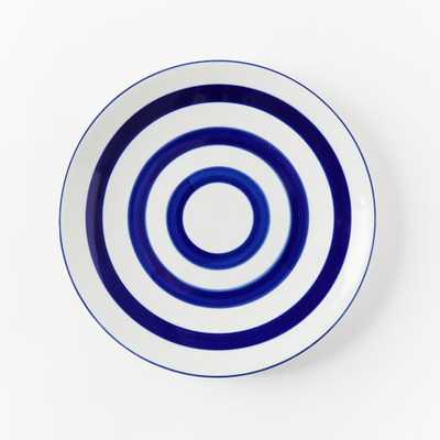 Collector's Editions Plates - Navy Stripe - West Elm