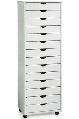 STANTON 14-DRAWER WIDE STORAGE CART - Home Decorators