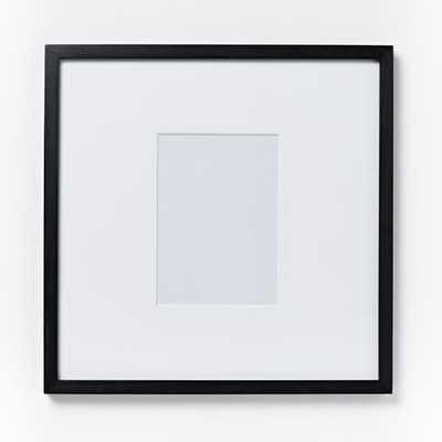 "Gallery Individual Frame- Black - 18''x 18"" - West Elm"