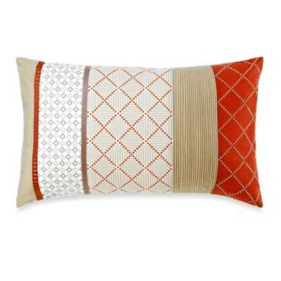 Royal Heritage Home® Pelham Breakfast Throw Pillow in Orange - Bed Bath & Beyond