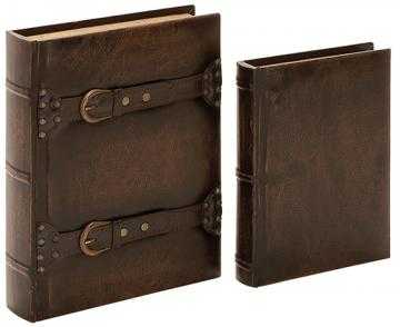 OWEN BOOK BOXES - SET OF 2 - Home Decorators
