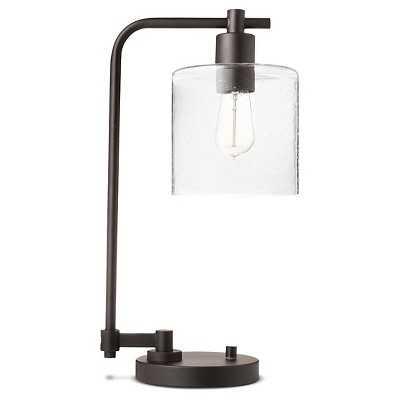 Hudson Industrial Table Lamp - Ebony - Threshold - Target