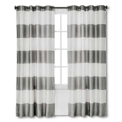 "Thresholdâ""¢ Bold Stripe Curtain Panel-84"" - Target"